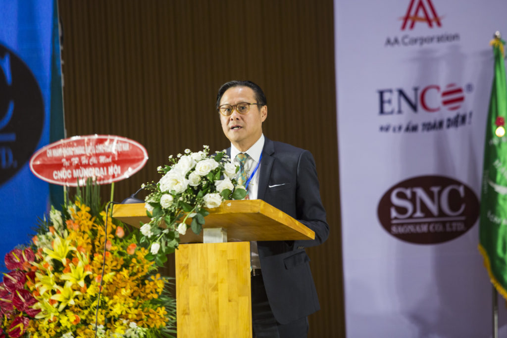 MR. NGUYEN QUOC KHANH IS PROUDLY SELECTED ONE MORE TIME FOR HAWA'S CHAIRMAN
