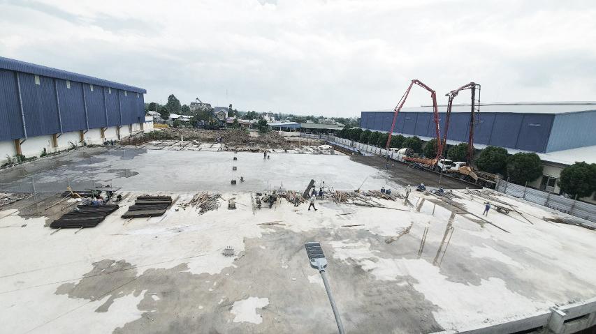 Hạ tầng đường nội bộ nhà máy Thủy Sản Vĩnh Phước